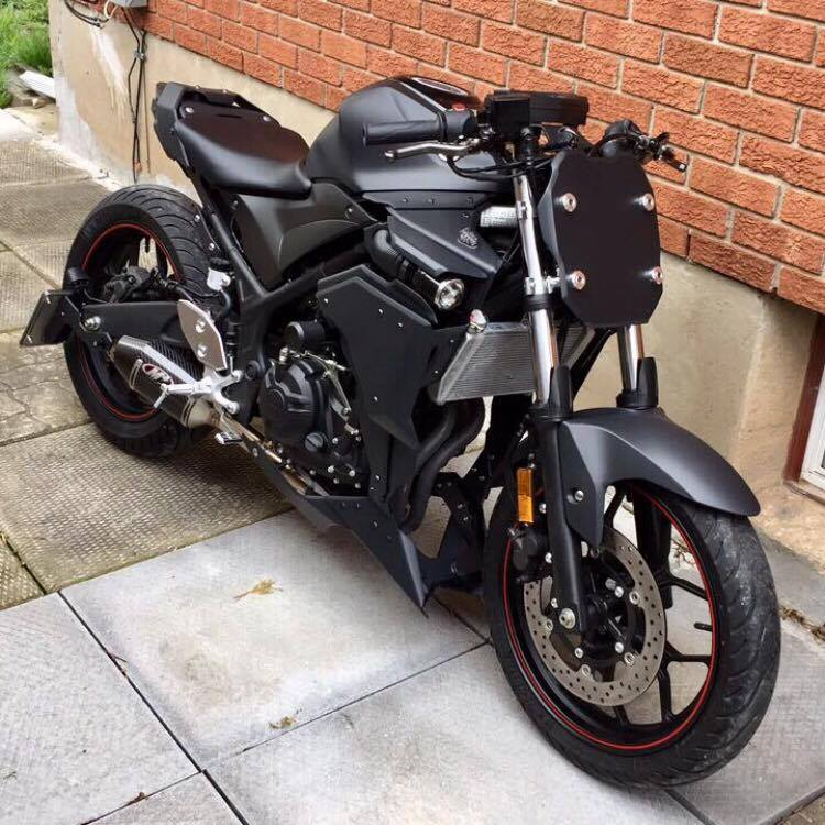 Before and after photos (selling stock fairings too) - Yamaha R3 Forum