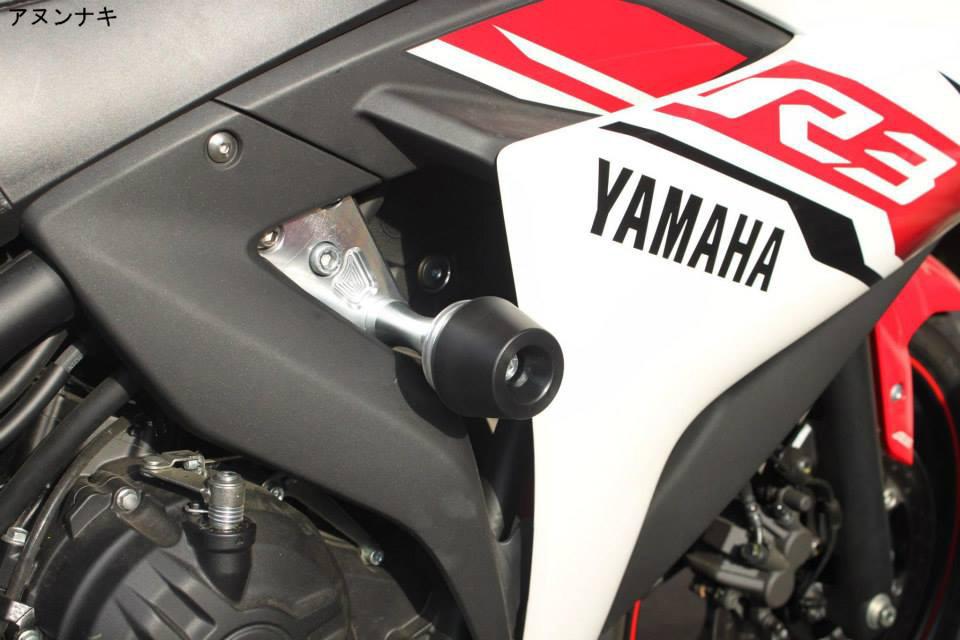 Frame sliders v4 - Yamaha R3 Forum